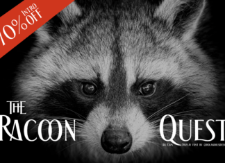 The Racoon Quest Font