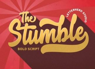 The Stumble Font