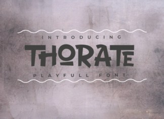 THORATE Font