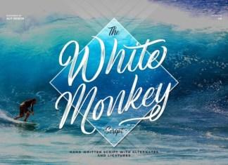 White Monkey Font
