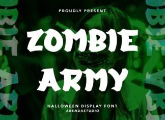 Zombie Army Font