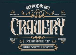 Cravery Font
