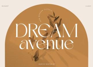 Dream Avenue Font