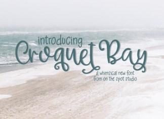 Croquet Bay Font