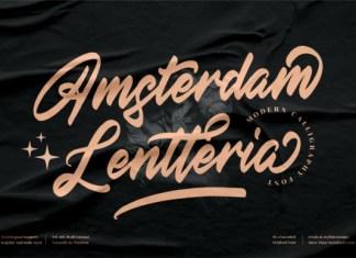 Amsterdam Lentteria Font