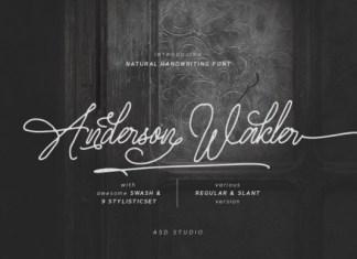 Anderson Wakler Font