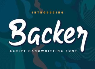 Backer Font