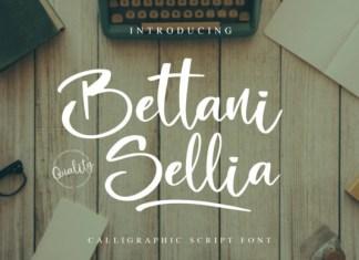 Bettani Sellia Font