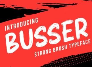 Busser Font