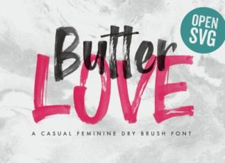 Butter Love Font