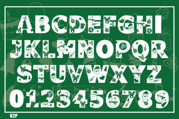 Christmas in Summer Font