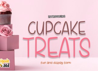 Cupcake Treats Font