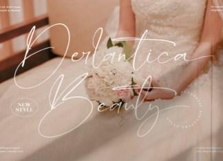 Derlantica Beauty Font