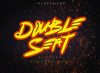 Double Seat Font