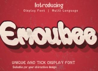 Emoubee Font