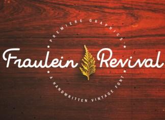 Fraulein Revival Font