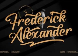 Frederick Alexander Font