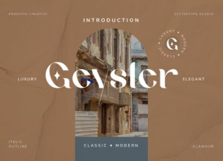 Geyster Font