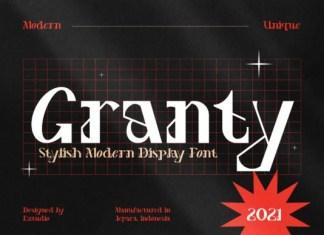 Granty Font