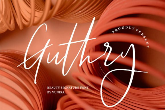 Guthry Font