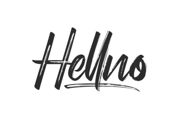 Hellno Font