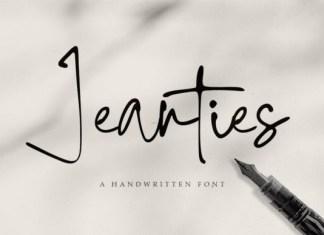 Jeanties Font