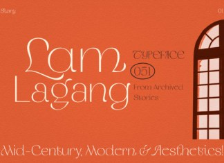 LAM LAGANG Font