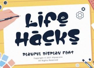 Life Hacks Font