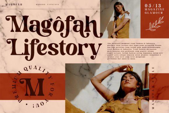 Magofah Font
