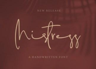 Mistress Font