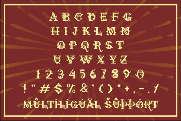 Mitlhina Victorian Font