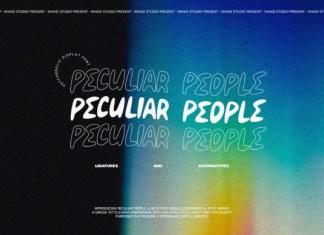 Peculiar People Font