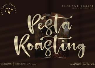 Pesta Roasting Font