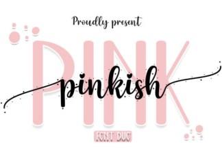 Pinkish Pink Font