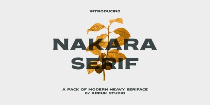 Nakara Font