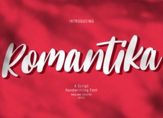 Romantika Font