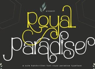 Royal Paradise Font