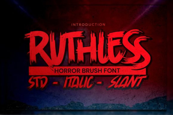 Ruthless Font