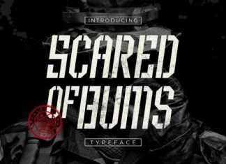 Scared of Bums Font