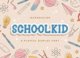Schoolkid Font