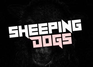 Sheeping Dogs Font