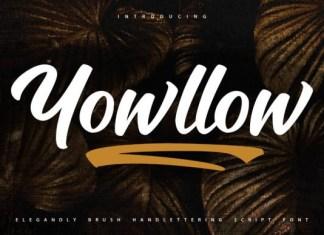 Yowllow Font