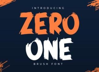 Zero One Font