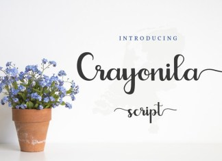 Crayonila Script Font