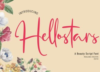 Hellostars Font