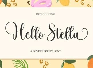 Hello Stella Font