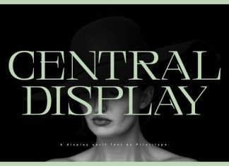 Central Display Font