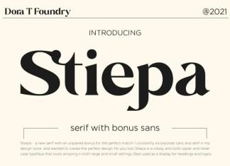 Stiepa Font