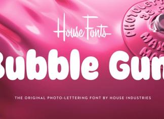 Plinc Bubble Gum Font