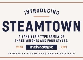 Steamtown Font